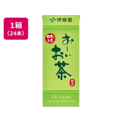 伊藤園/お~いお茶 緑茶 250ml 24本