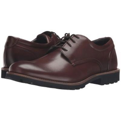 ロックポート メンズ ドレスシューズ シューズ Sharp & Ready Colben Brown Burnished Leather