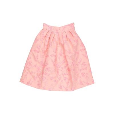 SATÌNE ひざ丈スカート ピンク M レーヨン 50% / ポリエステル 50% ひざ丈スカート