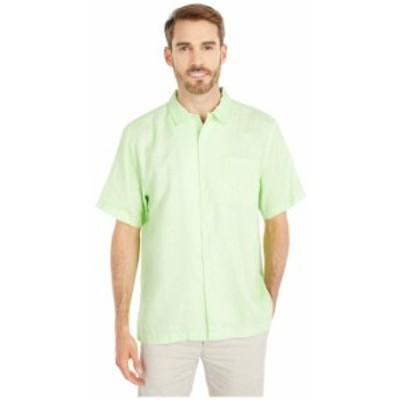 トッミーバハマ メンズ シャツ トップス Sea Glass Camp Shirt Glowing Green