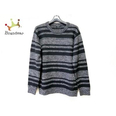 ブラックレーベルクレストブリッジ 長袖セーター サイズL メンズ - クルーネック/ボーダー 新着 20210203