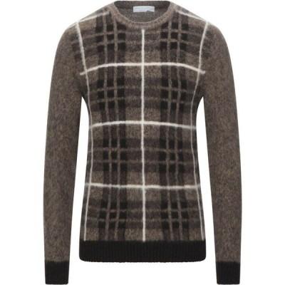 フィリッポ デ ローレンティス FILIPPO DE LAURENTIIS メンズ ニット・セーター トップス sweater Brown