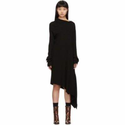 マルケス アルメイダ Marques Almeida レディース ワンピース ワンピース・ドレス black draped neck dress