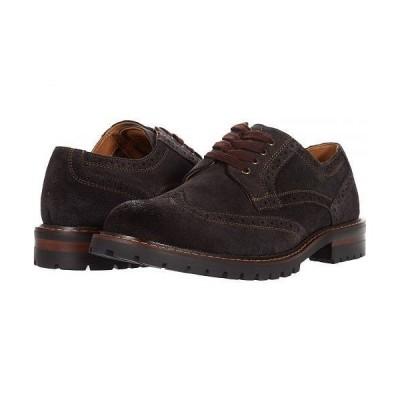 Steve Madden スティーブマデン メンズ 男性用 シューズ 靴 オックスフォード 紳士靴 通勤靴 Kommber Oxford - Brown Suede