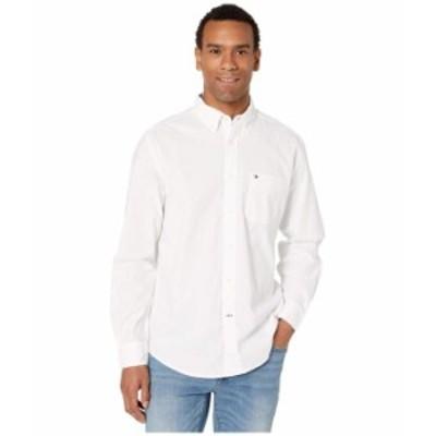トミー ヒルフィガー メンズ シャツ トップス Capote Button Down Shirt Classic Fit Bright White