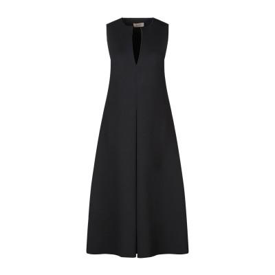 NENAH® 7分丈ワンピース・ドレス ブラック S ポリエステル 75% / レーヨン 20% / ポリウレタン 5% 7分丈ワンピース・ドレス