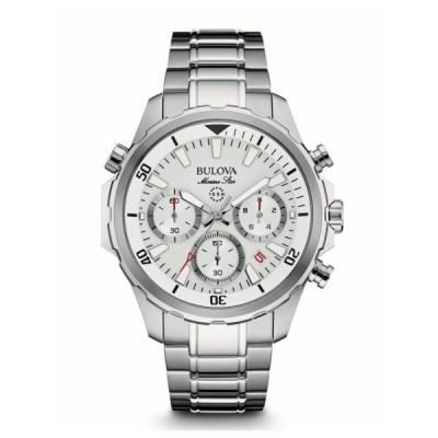 BULOVA 96B255 ブローバ マリンスター メンズ クロノグラフ ウォッチ 腕時計