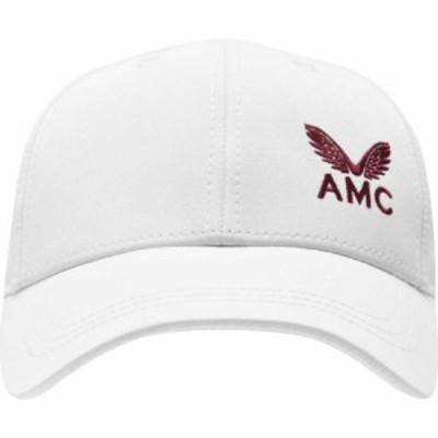カストル CASTORE レディース キャップ 帽子 Wimbledon White Collection Baseball Cap White/Red