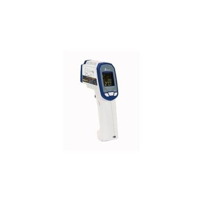シンワ測定 73063 放射温度計 G 耐衝撃 デュアルレーザーポイント機能付 放射率可変タイプ