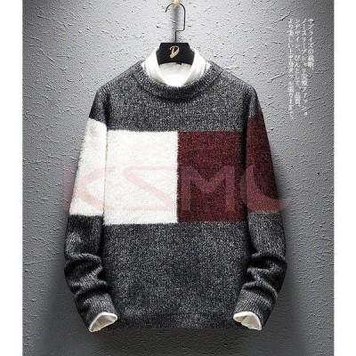 セーター メンズ タートルネック ニット 無地 セーター 長袖ニット トップス ハイネック ケーブル編み カウチンセーター プルオーバー 秋冬 かっこいい
