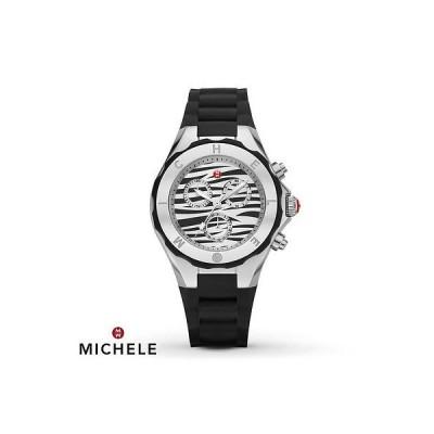 腕時計 ミッシェル MICHELE TAHITIAN ゼリー ブラック ZEBRA コレクション HOT 腕時計 MWW12F000053