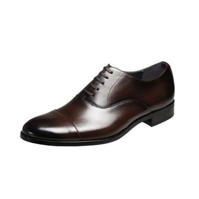 マドラスメンズシューズ4401ダークブラウンストレートチップ紳士靴