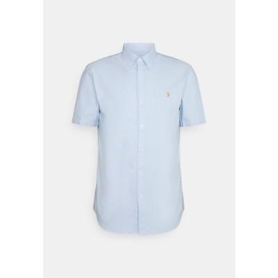 ファーラー メンズ ファッション BREWER SHIRT - Shirt - sky blue