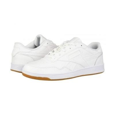 Reebok リーボック レディース 女性用 シューズ 靴 スニーカー 運動靴 Club Memt - White/White/Reebok Rubber Gum 01