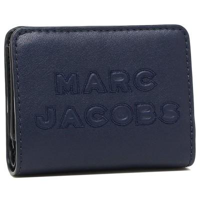 「P10%還元 5/15〜16」マークジェイコブス 折財布 アウトレット レディース MARC JACOBS M0015752 421 ネイビー