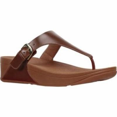 フィットフロップ ビーチサンダル The Skinny Thong Sandal Cognac Leather