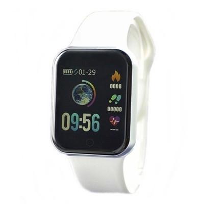 初心者向け 使いやすく見やすい 国内正規品 SMART R スマートR スマートウォッチ メンズ レディース  iPhone android 心拍 Line通知 NY07 WH 腕時計