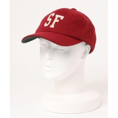 CERCA / RM/ウール ロゴキャップ MEN 帽子 > キャップ