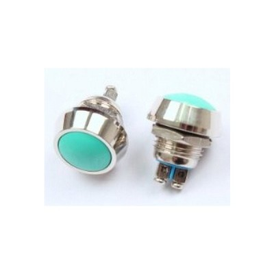防水 IP65 直径 12mm モーメンタリ—式 押しボタン スイッチ 2個セット 屋外 プッシュスイッチ バイク 車 自作 装置 電装 (送料無料)lvt-864