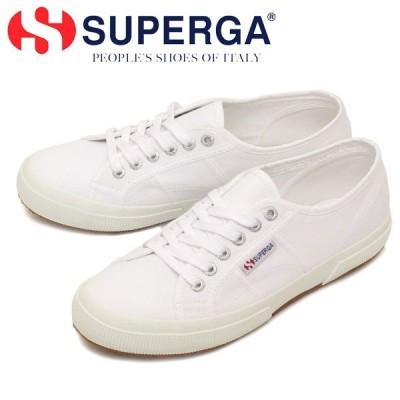 SUPERGA (スペルガ) 2750-COTU CLASSIC キャンバススニーカー 901 WHITE SPG001