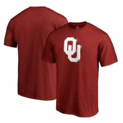 Fanatics Branded ファナティクス ブランド スポーツ用品  Fanatics Branded Oklahoma Sooners Crimson Splatter Logo