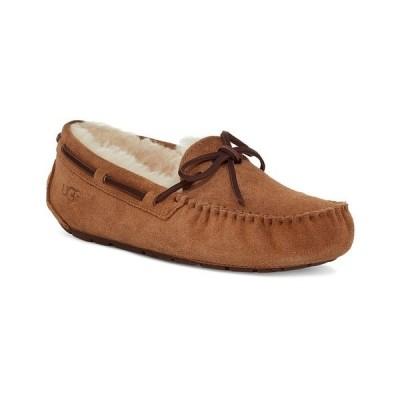 アグ サンダル シューズ レディース Women's Dakota Moccasin Slippers Chestnut