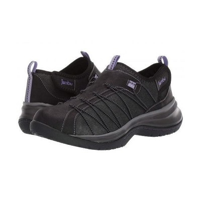 Jambu ジャンブ レディース 女性用 シューズ 靴 スニーカー 運動靴 Spirit Encore Vegan - Black/Violet