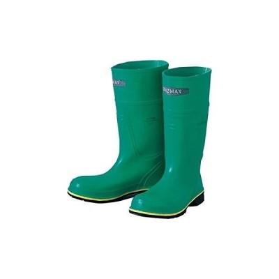 アゼアス 892-77210 ハズマックスブーツB 耐化学薬品長靴 サイズ7(25.5cm) 892-77210-7 1足