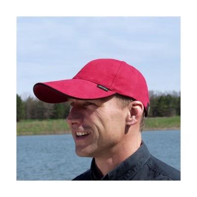 人気のロングバイザーが1,000円でご提供(会員)!キャップ 帽子 メンズ ロングバイザー ELレッド