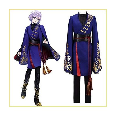 QQA Cosplay Costume for Womens Epel Felmier Uniform Outfit for Halloween Carnival Party Clothing,Blue,XXL【並行輸入品】