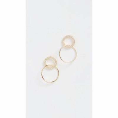 ゴリアナ Gorjana レディース イヤリング・ピアス ジュエリー・アクセサリー Balboa Shimmer Interlocking Stud Earrings Gold