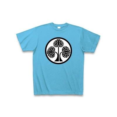 本多忠勝(家紋) Tシャツ Pure Color Print(シーブルー)