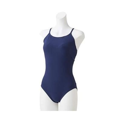 Speedo(スピード) フィットネス水着 レディース スーツ リファインド オープンクロスバック プール 水泳 リゾート SFW01921 ナイト N L
