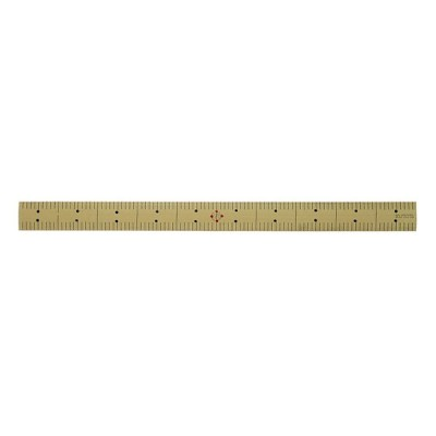 シンワ測定(Shinwa Sokutei) 竹製ものさし かね1尺 71897