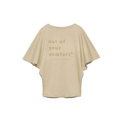 [スナイデル] モードロゴTシャツ SWCT201138 レディース BEG 日本 F (FREE サイズ)