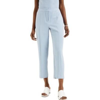 アルファニ レディース カジュアルパンツ ボトムス Straight-Leg Ankle Pants, Created for Macy's Prussian Blue