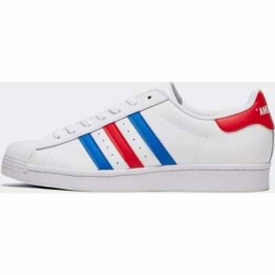 アディダス adidas Originals メンズ スニーカー シューズ・靴 Superstar Trainer Footwear White/Blue/Cord