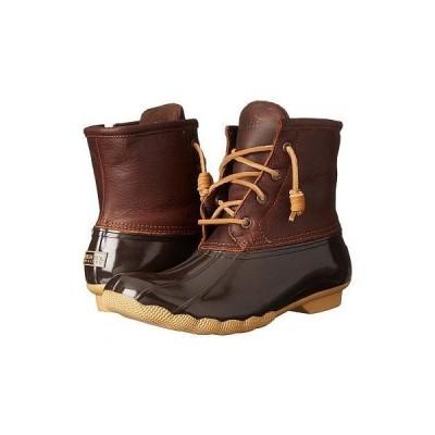 Sperry スペリー レディース 女性用 シューズ 靴 ブーツ レインブーツ Saltwater - Tan/Dark Brown