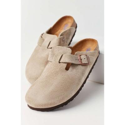 ビルケンシュトック Birkenstock レディース クロッグ シューズ・靴 Boston Soft Footbed Clog Taupe