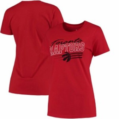Fanatics Branded ファナティクス ブランド スポーツ用品  Toronto Raptors Womens Red Simplicity Primary Logo T-Shi