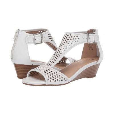 Aerosoles エアロソールズ レディース 女性用 シューズ 靴 ヒール Sapphire - White Leather