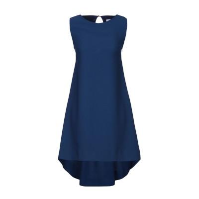 ANNIE P. ミニワンピース&ドレス ダークブルー 40 ポリエステル 100% ミニワンピース&ドレス