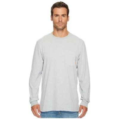 ティンバーランド シャツ メンズ Base Plate Blended Long Sleeve T-Shirt Light Grey Heather