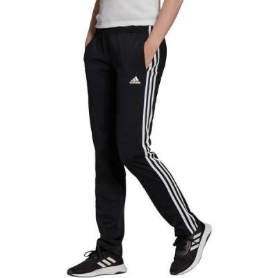 アディダス レディース カジュアルパンツ ボトムス adidas Adult Warm-Up Tricot Regular 3-Stripes Track Pants