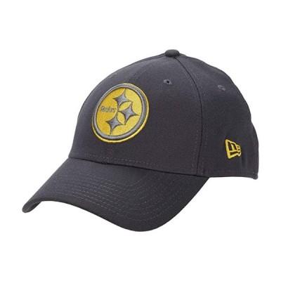 customerAuth NFL Stretch Fit Graphite 3930 -- Pittsburgh Steelers メンズ 帽子 Graphite