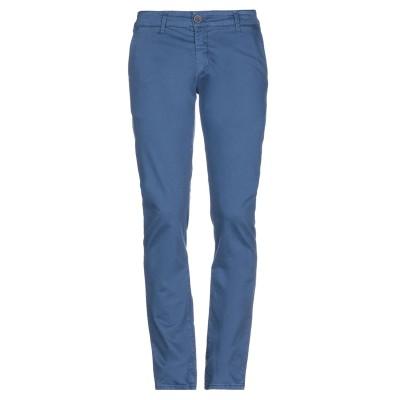 LIU •JO MAN パンツ ブルー 42 コットン 97% / ポリウレタン 3% パンツ