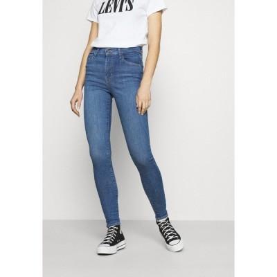 リーバイス デニムパンツ レディース ボトムス 720 HIRISE SUPER SKINNY - Jeans Skinny Fit - eclipse craze