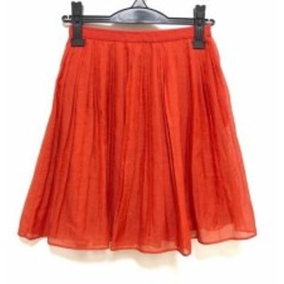 アプワイザーリッシェ Apuweiser-riche スカート サイズ0 XS レディース 美品 レッド【中古】20190718