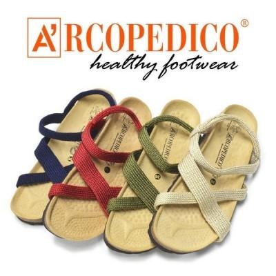 送料無料 ARCOPEDICO アルコぺディコ サルーテライン サンタナ 5061140 アンクルストラップ サンダル SANTANA 軽量 レディース 靴 シューズ 正規品