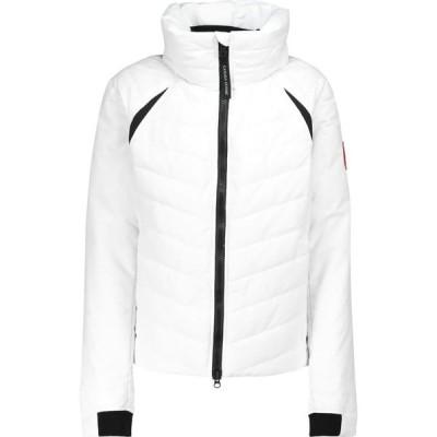 カナダグース Canada Goose レディース ダウン・中綿ジャケット アウター hybridge quilted down jacket White